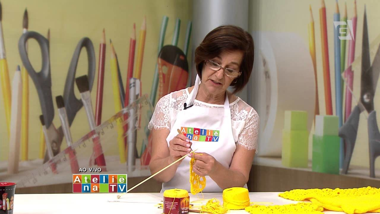 Ateliê na TV - TV Gazeta - 24.08.15 - Claudia Maria