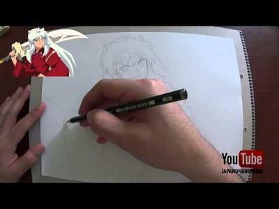 Como Empezar un Dibujo Anime o Manga (Inuyasha)