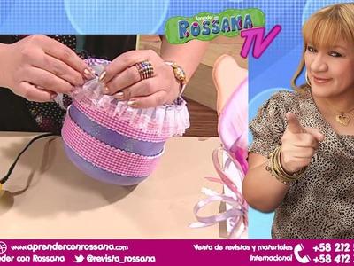 Decoración de Cesta para Bebés con pote de plástico - Aprender con Rossana TV #4. Temporada 1