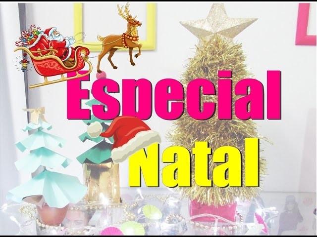 DIY ESPECIAL NATAL: ÁRVORES DE NATAL - Joyce Lima
