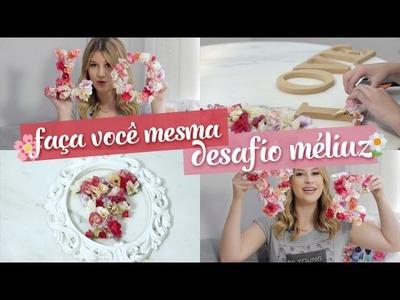 DIY: Letras de flores