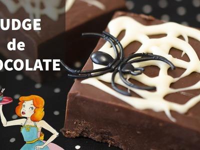 FUDGE de CHOCOLATE para HALLOWEEN