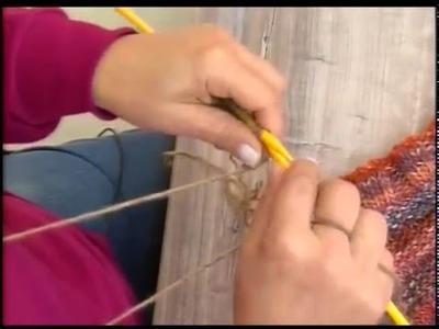 Gorro Ludmila em trico com Cisne Original executado por Cristina Amaduro em Luau Tv