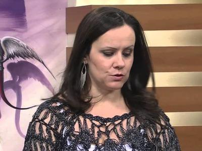 Mulher.com 06.08.2014 - Bolero Croche de Grampo por Helen Mareth - Parte 2