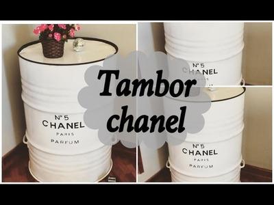 Tambor decor Chanel   D.I.Y   Bruna Ramos