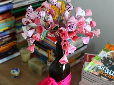 DIY - Flores de Tecido