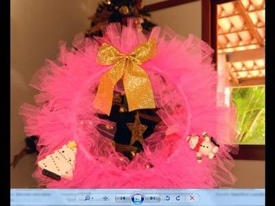 DIY Guirlanda Pink Ballet | Mandy Francesa