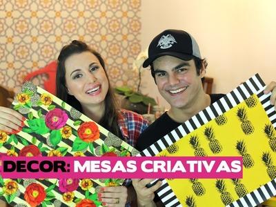 DIY: COMO MONTAR 04 MESAS LINDONAS