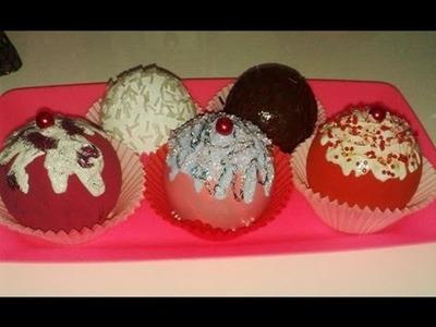 DIY: Enfeite de cupcake