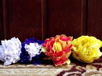 DIY - Flor de papel ou tecido