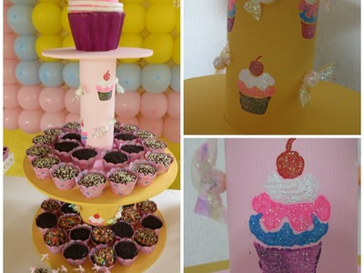DIY - Suporte de Cupcake