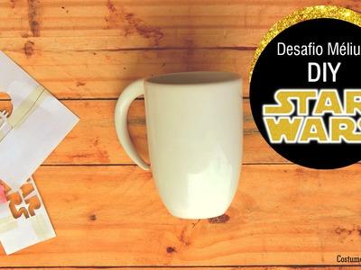 [3] Desafio Méliuz |  DIY - Caneca Star Wars