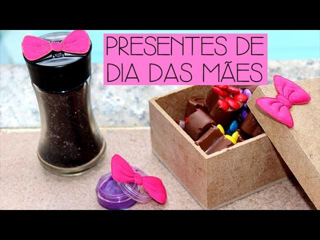 DIY - 3 presentes baratinhos de última hora para o dia das mães ♡
