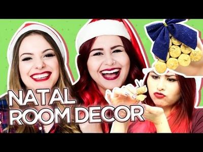 DIY 8 DECORAÇÕES PARA O NATAL • ROOM DECOR