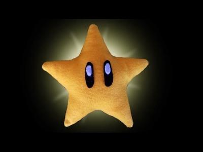 DIY - Estrela de pelúcia | Mario | Nintendo