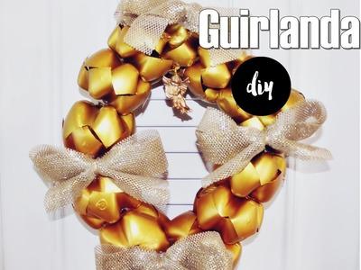 DIY- Guirlanda de Garrafa Pet