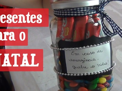 DIY Presentes Baratos para o NATAL | Maísa FLora