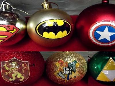 DIY - Bola de Natal geek   Especial Natal