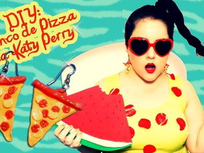 DIY: Brinco de Pizza da Katy Perry