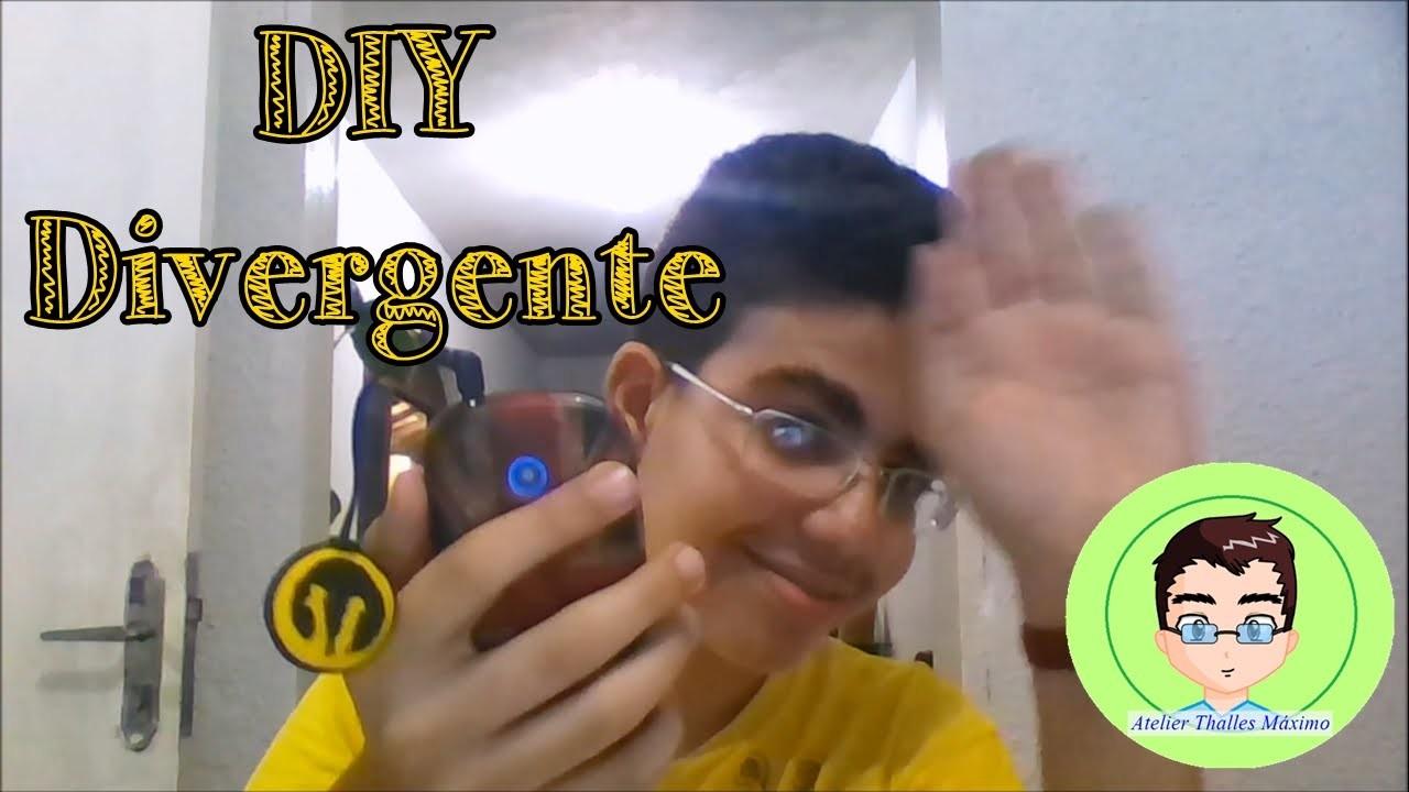 DIY GEEK:: Divergente - Pingente Para Celular - Thalles Máximo