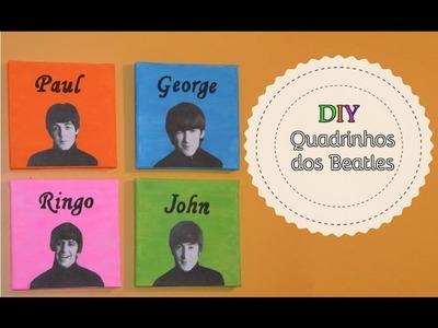 DIY: Quadrinhos dos Beatles ʕ•ᴥ•ʔ