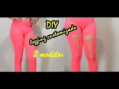 - COMO ARRASAR NA ACADEMIA - DIY - legging customizado