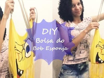 DIY: BOLSA DO BOB ESPONJA por MAGABI