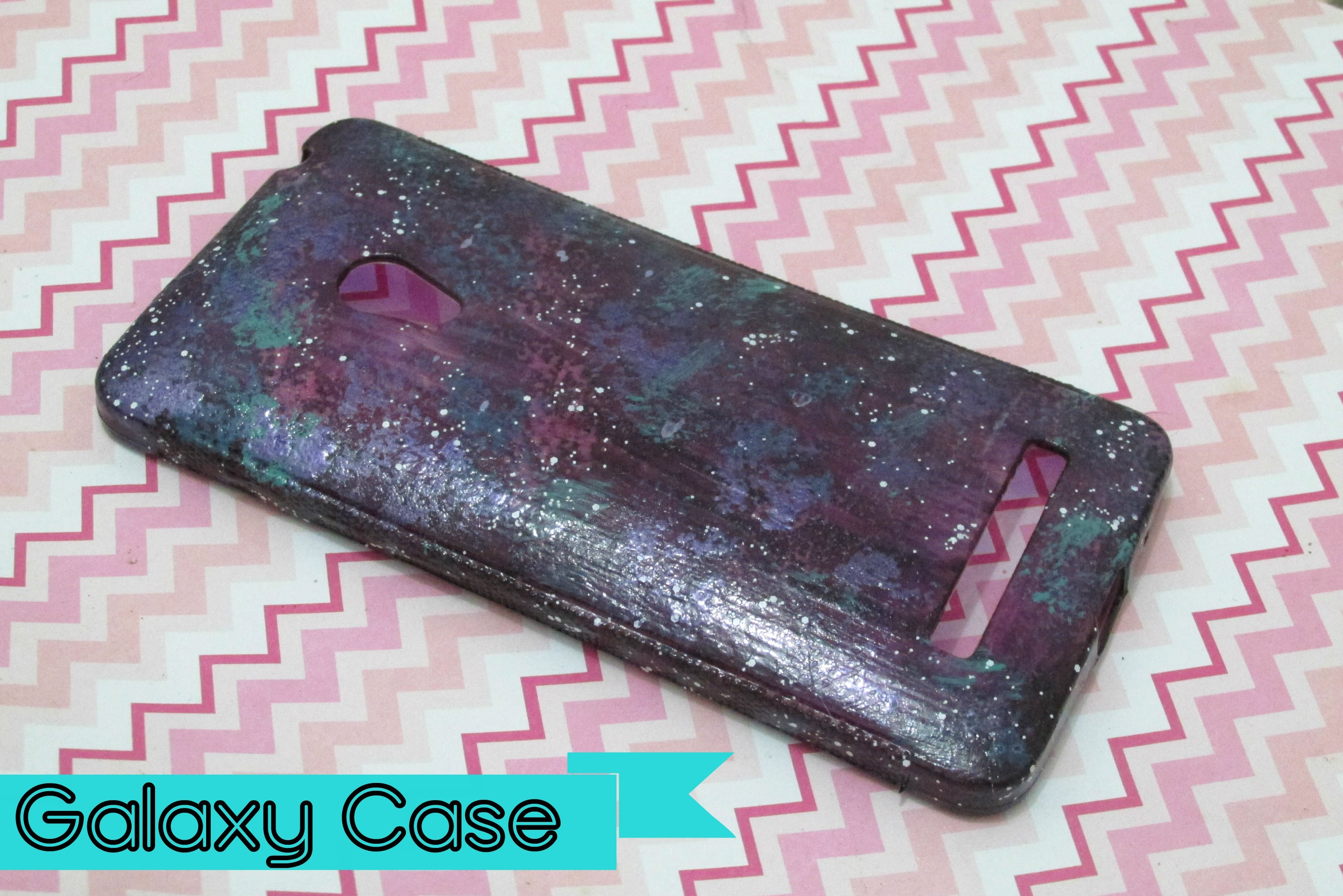 DIY - CASE DE GALÁXIA. GALAXY CASE (Zenfone 5)