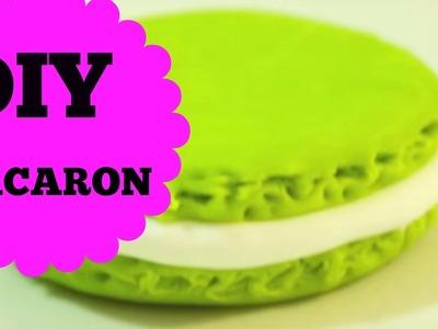 DIY- Macaron - Polymer Clay Macaron Tutorial.how to