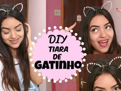 DIY: Tiara de Gatinho
