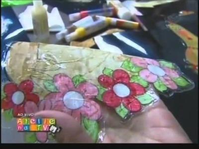 Ateliê na TV - Adesivagem Patch -Eliane Tanelli