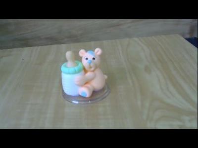 (AULA 8) Curso de Biscuit para Iniciantes - Ursinho na Mamadeira