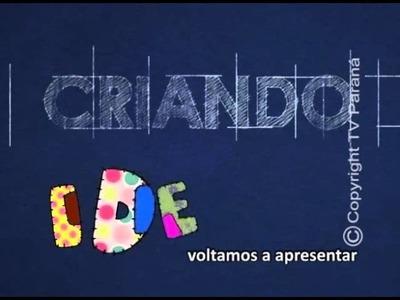 CRIANDO 09 03 16  LANCHEIRA DO SNOOPY COM PAULA AMORIM