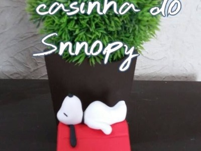 DIY- Aula da casinha do Snoopy e RECEBIDOS DA BLUESTAR. ELISANGELA MOTTA