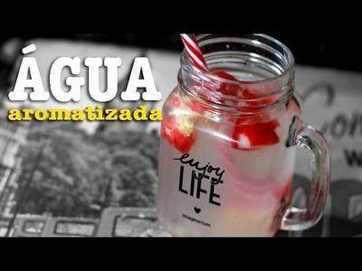 Como preparo minha água aromatizada? | Renata Nicolau