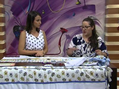 Mulher.com - 09.12.2015 -  Kit berço - Regina Heitor