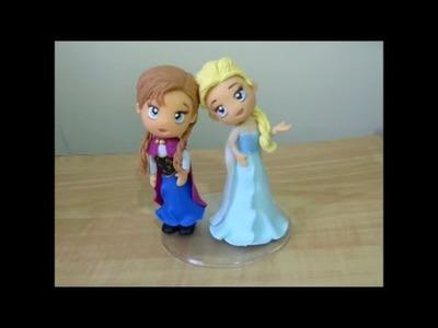 Turma do Frozen - Anna - PARTE 3 - Canal Aula de Biscuit