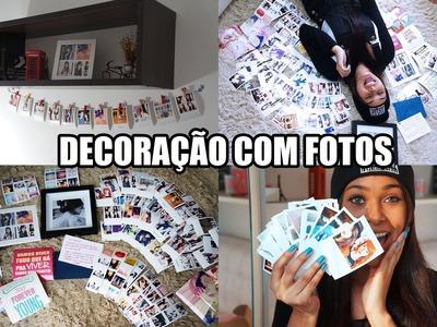 DIY DECORAÇÃO COM FOTOS