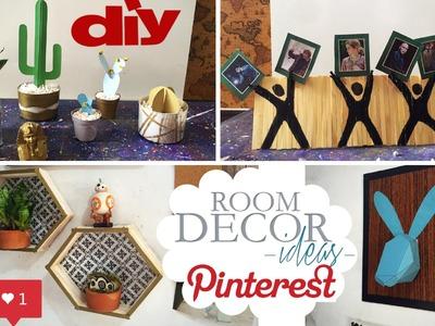 DIY - Decoração de Quarto Pinterest | Room Decor #5 - Eduardo Wizard