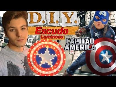 DIY - Escudo Luminoso Capitão América - Eduardo Wizard