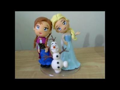 Turma do Frozen - Olaf - PARTE 2 - Canal Aula de Biscuit