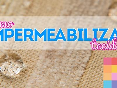Como impermeabilizar tecido   Teste de produto