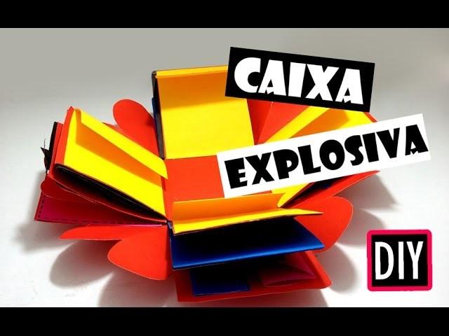 Diy Caixa Explosiva