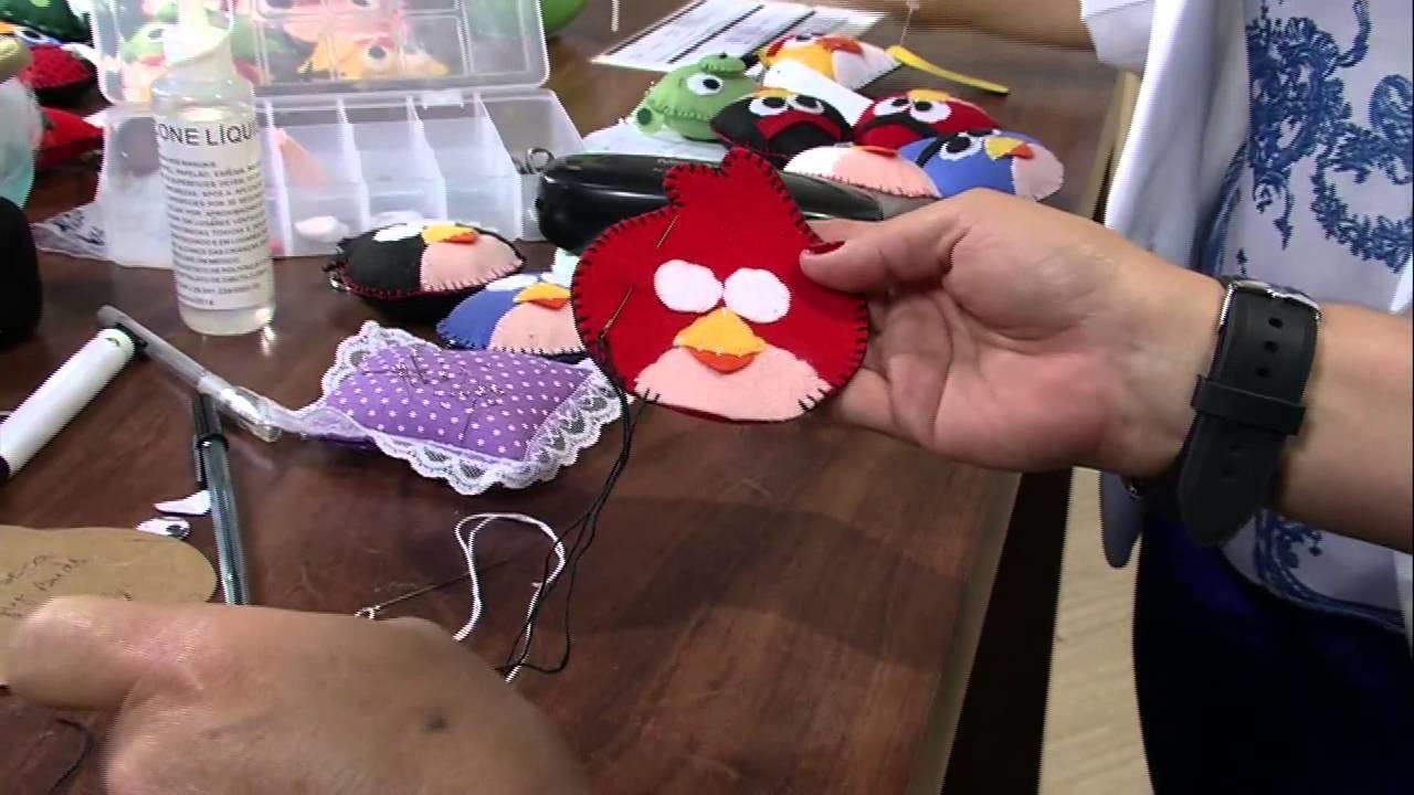 Mulher.com 15.07.2013 Cissa Mesquita Keller Cristina Chaveiro - Angry Birds