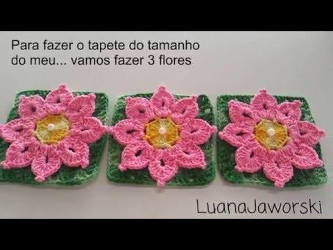 PAP da flor Taís,Para Ser Aplicado em Tapete Escamas e outros; Cristina coelho alves