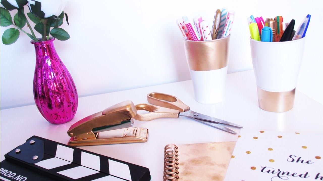 Como fazer um home office dourado | #MãoNaMassa EP 04