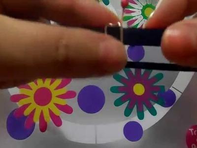 Como fazer uma tiara regulável- Passo a passo