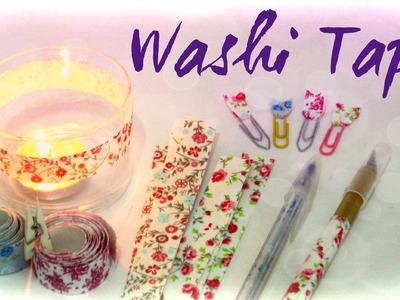 Como fazer Washi Tape [ Fita Adesiva de Tecido estilo Washi Tape ]