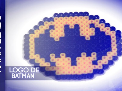 Como hacer logo de batman con hama beads