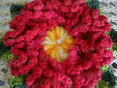 Flor de crochê Antonia